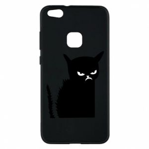 Etui na Huawei P10 Lite Zły kot