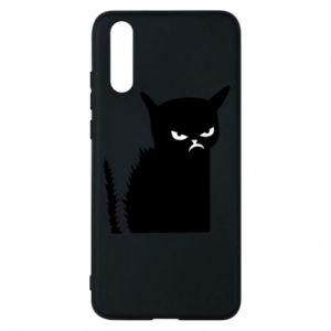 Etui na Huawei P20 Zły kot