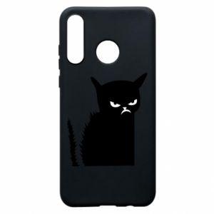 Etui na Huawei P30 Lite Zły kot