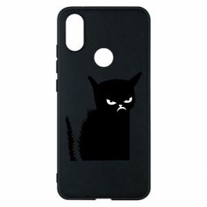 Etui na Xiaomi Mi A2 Zły kot