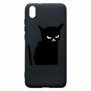 Etui na Xiaomi Redmi 7A Zły kot