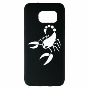 Etui na Samsung S7 EDGE Zły skorpion