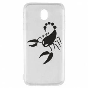 Etui na Samsung J7 2017 Zły skorpion