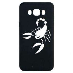 Etui na Samsung J7 2016 Zły skorpion