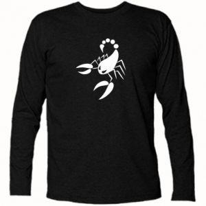 Koszulka z długim rękawem Zły skorpion - PrintSalon