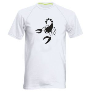 Men's sports t-shirt Angry scorpion