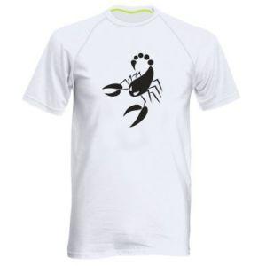 Męska koszulka sportowa Zły skorpion