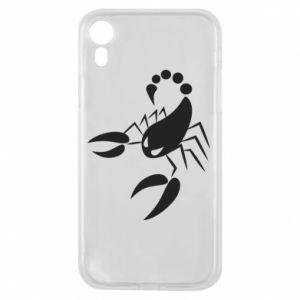 Etui na iPhone XR Zły skorpion