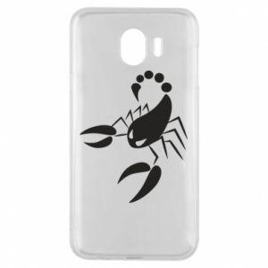 Etui na Samsung J4 Zły skorpion