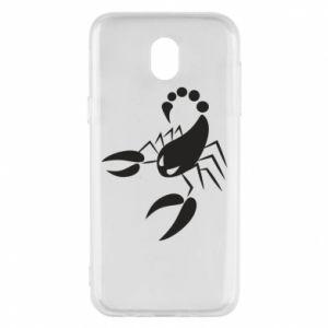 Etui na Samsung J5 2017 Zły skorpion