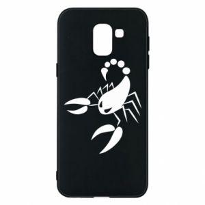 Etui na Samsung J6 Zły skorpion
