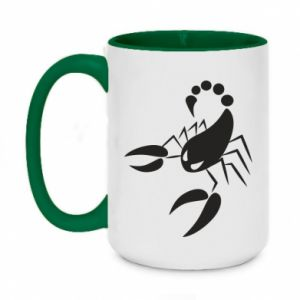 Kubek dwukolorowy 450ml Zły skorpion