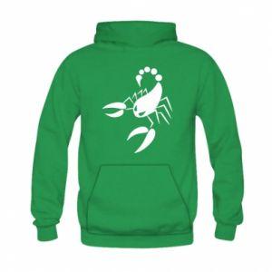 Bluza z kapturem dziecięca Zły skorpion