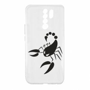 Etui na Xiaomi Redmi 9 Zły skorpion
