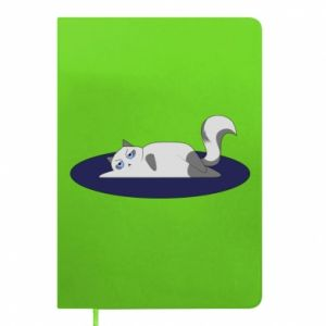 Notepad Tired cat
