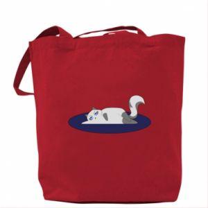 Bag Tired cat - PrintSalon