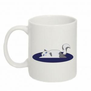 Mug 330ml Tired cat