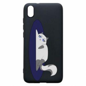 Phone case for Xiaomi Redmi 7A Tired cat - PrintSalon