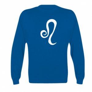 Kid's sweatshirt Leo sign