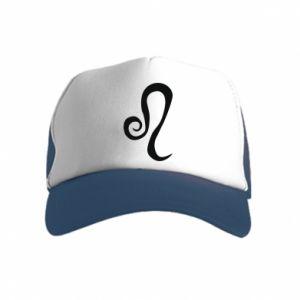 Kid's Trucker Hat Leo sign