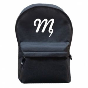 Backpack with front pocket Virgo sign
