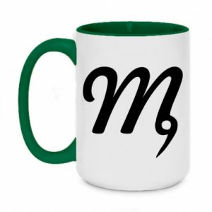 Two-toned mug 450ml Virgo sign