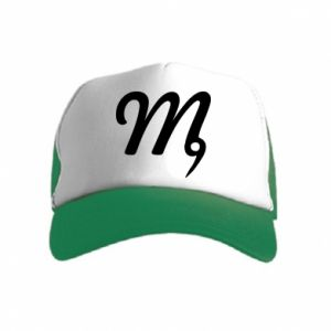 Kid's Trucker Hat Virgo sign
