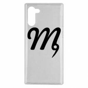 Samsung Note 10 Case Virgo sign