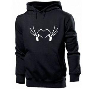 Men's hoodie Heart sign