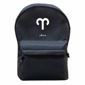 Backpack with front pocket Zodiac sign Aries