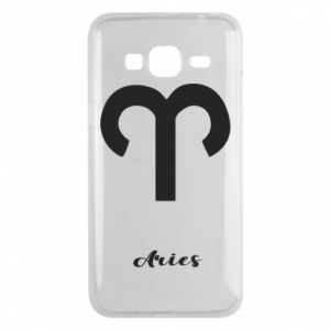 Phone case for Samsung J3 2016 Zodiac sign Aries