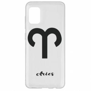 Samsung A31 Case Zodiac sign Aries