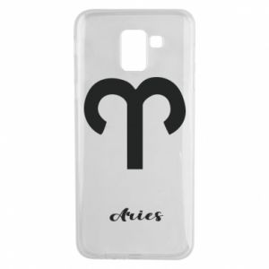 Phone case for Samsung J6 Zodiac sign Aries