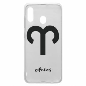 Phone case for Samsung A20 Zodiac sign Aries