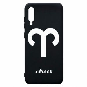 Phone case for Samsung A70 Zodiac sign Aries