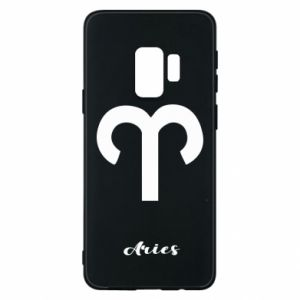 Phone case for Samsung S9 Zodiac sign Aries