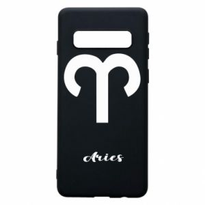 Phone case for Samsung S10 Zodiac sign Aries