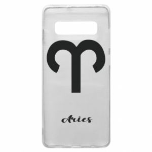 Phone case for Samsung S10+ Zodiac sign Aries