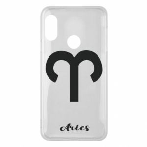 Phone case for Mi A2 Lite Zodiac sign Aries