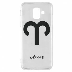 Phone case for Samsung A6 2018 Zodiac sign Aries