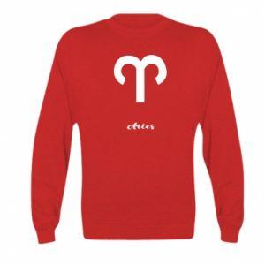 Kid's sweatshirt Zodiac sign Aries
