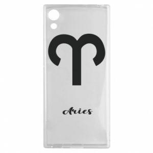 Sony Xperia XA1 Case Zodiac sign Aries