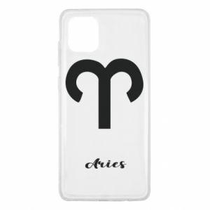 Samsung Note 10 Lite Case Zodiac sign Aries