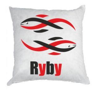 Poduszka Znak zodiaku Ryby