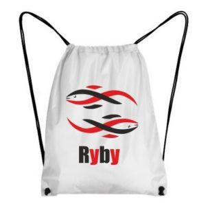 Plecak-worek Znak zodiaku Ryby