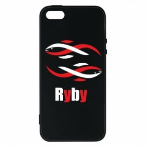 Etui na iPhone 5/5S/SE Znak zodiaku Ryby