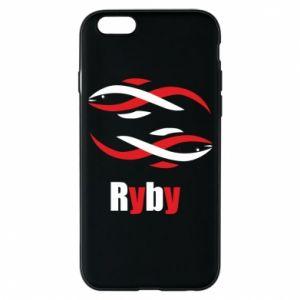 Etui na iPhone 6/6S Znak zodiaku Ryby