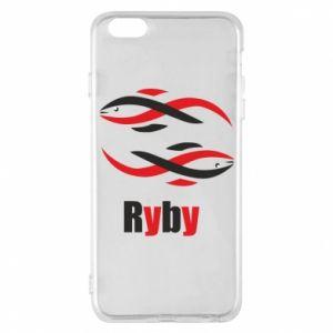 Etui na iPhone 6 Plus/6S Plus Znak zodiaku Ryby