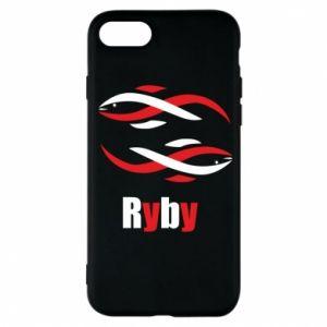 Etui na iPhone 7 Znak zodiaku Ryby