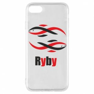 Etui na iPhone 8 Znak zodiaku Ryby